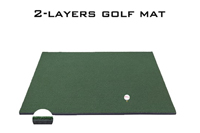 2 layers golf mat