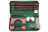 golf putter gift set leather box