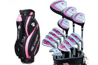 Lady golf club set