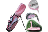 Junior golf club set for girl