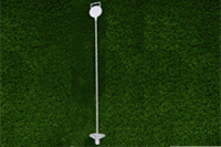 Plastic golf flagstick